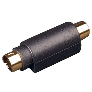 Mini DIN plug to RCA socket FREI