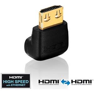 Adapter, HDMI A Stecker auf HDMI A Buchse, PureInstall Serie PURELINK PI035