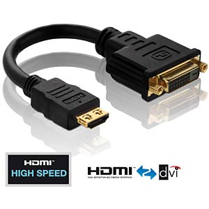 HDMI/DVI adapter cable - PureInstall series PURELINK PI060