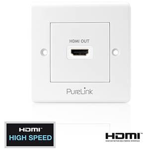 HDMI Anschlußdose - 1-fach - PureInstall Serie PURELINK PI100