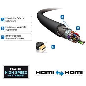 HDMI Verlängerung - PureInstall Serie / 1,00 m PURELINK PI1100-010