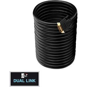 DVI Monitor Kabel DVI 24+1 Stecker, Dual Link, 7,5 m PURELINK PI4200-075