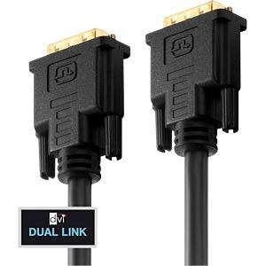 DVI Monitor Kabel DVI 24+1 Stecker, Dual Link, 5 m PURELINK PI4200-050