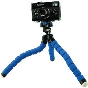 Flexible tabletop tripod, blue ROLLEI 20798