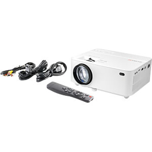 Projector, 1800 lm, (800 x 480) TECHNAXX 4781