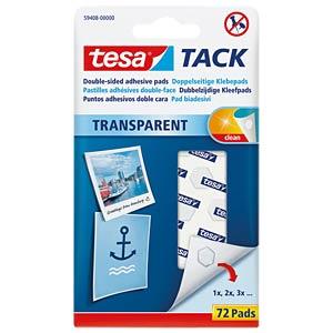 tesa® TACK Doppelseitige Klebepads 72 Stück TESA 59408-00000-00