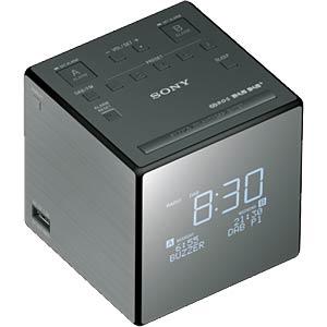 DAB/DAB+ Uhrenradio für die Tasche SONY XDRC1DBP.CED