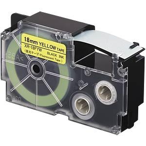 Fluorescent Tape CASIO XR-18FYW