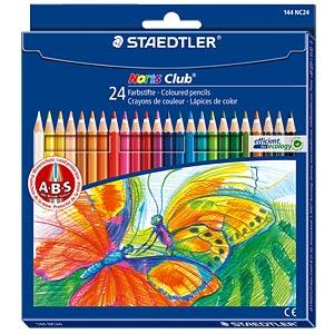 Noris Club Farbstifte, 24 Farben STAEDTLER 144 NC24