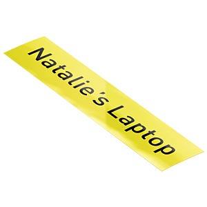 Etikettenkartusche Plastik 12mm x 10m, gelb LEITZ 70150015