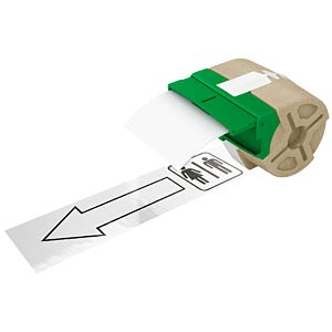 Etikettenkartusche Plastik 88mm x 10m, weiß LEITZ 70160001