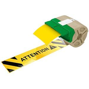 Etikettenkartusche Plastik 88mm x 10m, gelb LEITZ 70160015