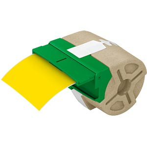 Label cartridge, plastic, 88 mm x 10 m, yellow LEITZ 70160015