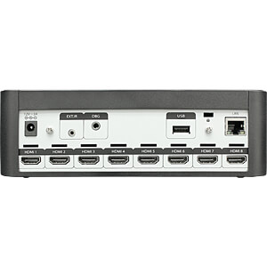 4K UHD HDR Stream Generator - 8 HDMI - 500GB BLUVIZION BV-SG7008HA
