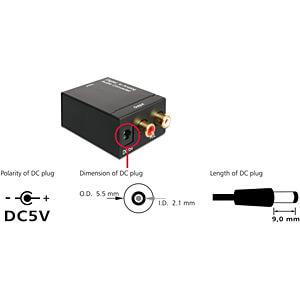 Audio Konverter Digital > Analog DELOCK 62444