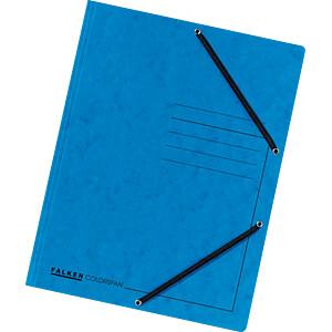 ECKSPA A4 BL - Eckspannmappe A4 blau