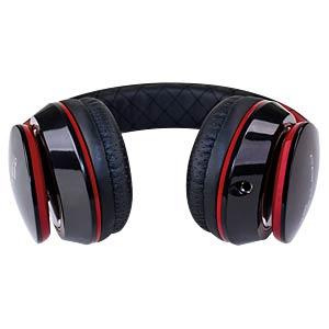 Headset, On Ear, schwarz/rot FANTEC 1800