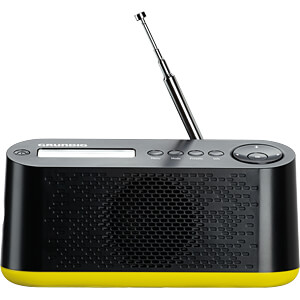 DAB+/FM Radio black / neongreen GRUNDIG GRR3100