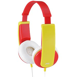 Kindvriendelijke stereo hoofdtelefoon, rood JVC HA-KD5-R