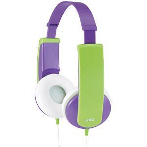 Kindgerechter Stereokopfhörer, violett JVC HA-KD5-V
