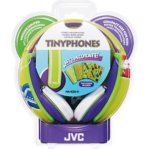 Kindgerechter Stereokopfhörer, Over-Ear, violett JVC HA-KD5-V