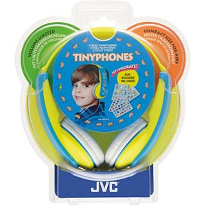 Kids' stereo headphones, yellow JVC HA-KD5-Y