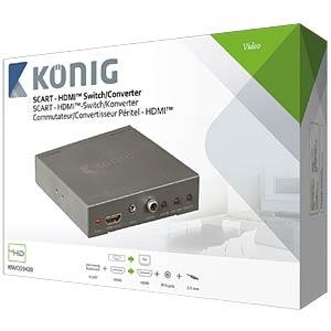 SCART - HDMI Konverter KÖNIG KNVCO3420