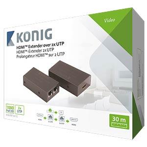 HDMI Extender über CAT5e/6-Kabel KÖNIG KNVRP3410