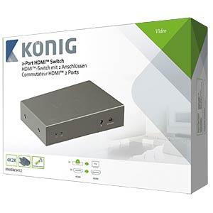 HDMI Schalter 4->1 KÖNIG KNVSW3412