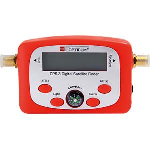 Appareil de mesure de niveau, Appareil de mesure du satellite OPTICUM RED 9875
