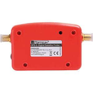 Level measuring device, Sat measurement device OPTICUM RED 9875