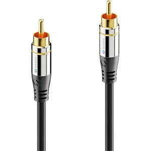 Cinch audio cable, Cinch connector, 1.5 m SONERO