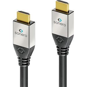 HDMI Premium High Speed met Ethernet 4K 60 Hz, 7,5 m SONERO