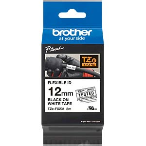 Labelbandcassette 12mm BROTHER TZE-FX231