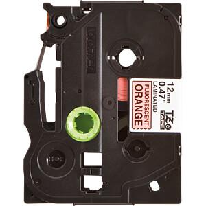 TZE-tapecassette, 3,5 mm, zwart/wit BROTHER TZE-N201