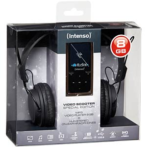 MP3 Player 8GB, black INTENSO 3717760 SP