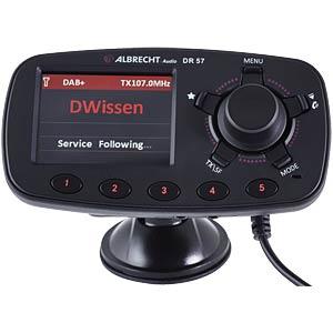 Digitalradio Adapter für das Autoradio ALBRECHT 27257