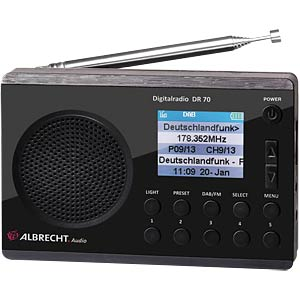 ALBRECHT DR70 - Digitalradio