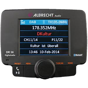 Digitalradio Autoradio Adapter ALBRECHT 27356