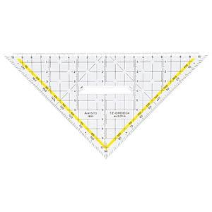 TZ-Dreieck 22.5 cm, mit Griff ARISTO AR1650/2