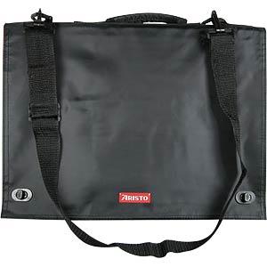 Zeichentasche A3, schwarz, Innenseite rot ARISTO AR7063