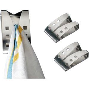 Handtuchhalter silber FREI