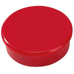 Magnete, 38 mm, rot, 10 Stück DAHLE 95538-20984