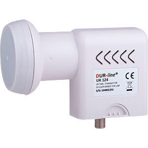 Unicable II LNB for 24 subscribers, 40-mm feed DUR-LINE 24443