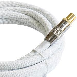 Anschlusskabel, IEC, Stecker, Kupplung, Nylon, 2 m PYTHON GC-M2003