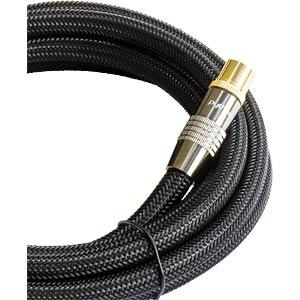 Anschlusskabel, IEC, Stecker, Kupplung, Nylon, 20 m PYTHON GC-M2019