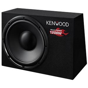 Behuizingssubwoofer KENWOOD KSCW1200B