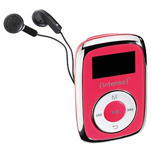 MP3-Player, 8GB, pink INTENSO 3614563