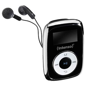 MP3-Player, 8GB, schwarz INTENSO 3614560