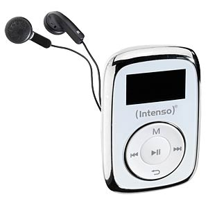 Mp3-speler 8GB, wit INTENSO 3614562